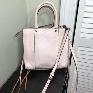 Rebecca Minkoff Pastel Pink Leather Crossbody